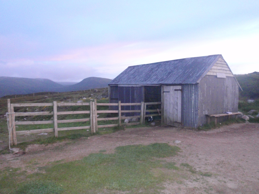 Allan's hut