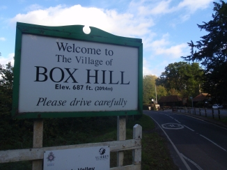 Box Hill village