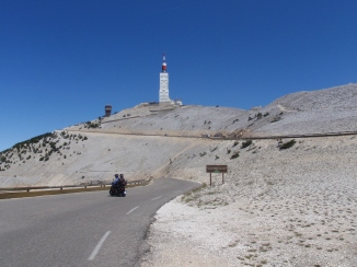 The north side of Ventoux