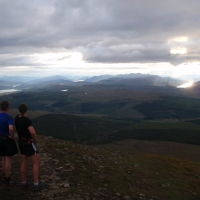 A view from Ben Wyvis... at last