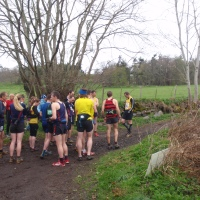 Cioch Mhor hill race 2012