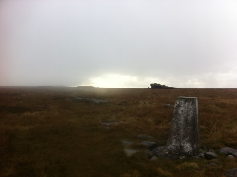 Ward's Stone 'summit'