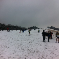 Overcoming adversity and adverse conditions at the Box Hill Fell Race 2013