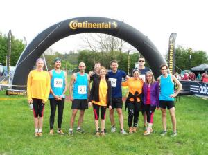 Mens and Womens running teams