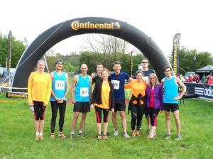 Mens and Womens running teams