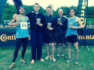 Men's Running - champions!