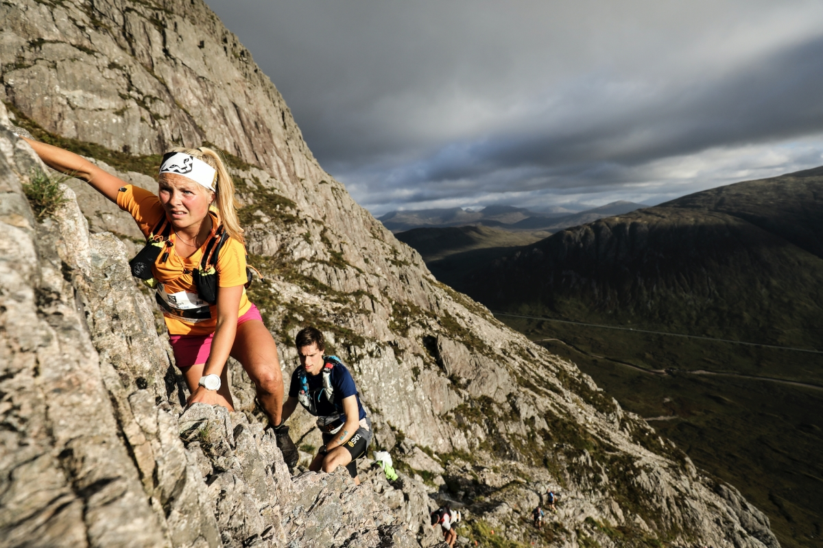 Glen Coe Skyline: the enormity in numbers