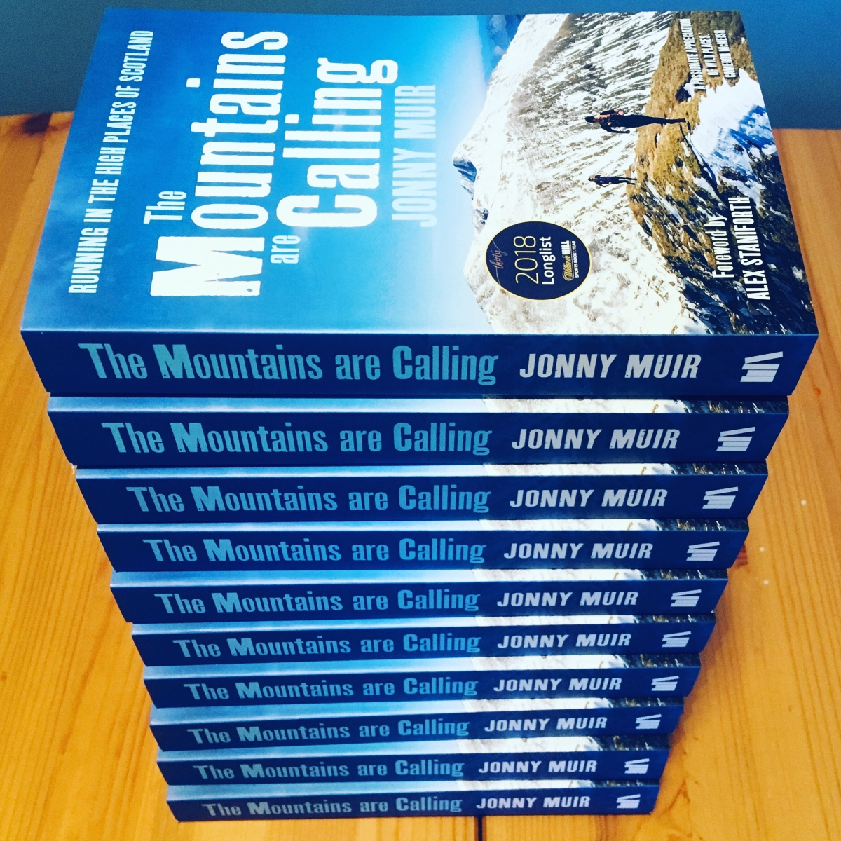 The Mountains are Calling - paperback published today